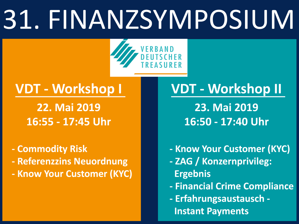 Finanzsymposium Workshops